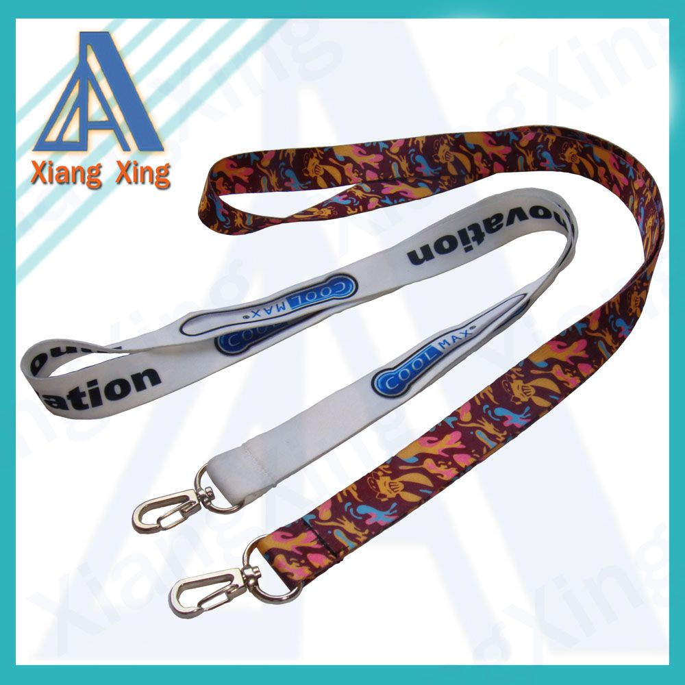 2014 China Market Cheap Custom Lanyard No Minimum Order With Any Hook