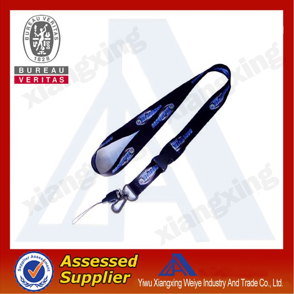 Cheap Custom Heat Transfer Lanyard WIth Safety Buckle