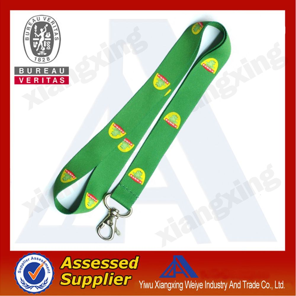 Custom Heat Transfer Lanyard With Safety Buckle