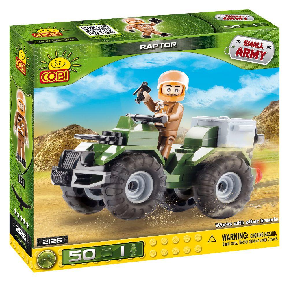 COBI 2126 army military toy building blocks bricks made in EUROPE