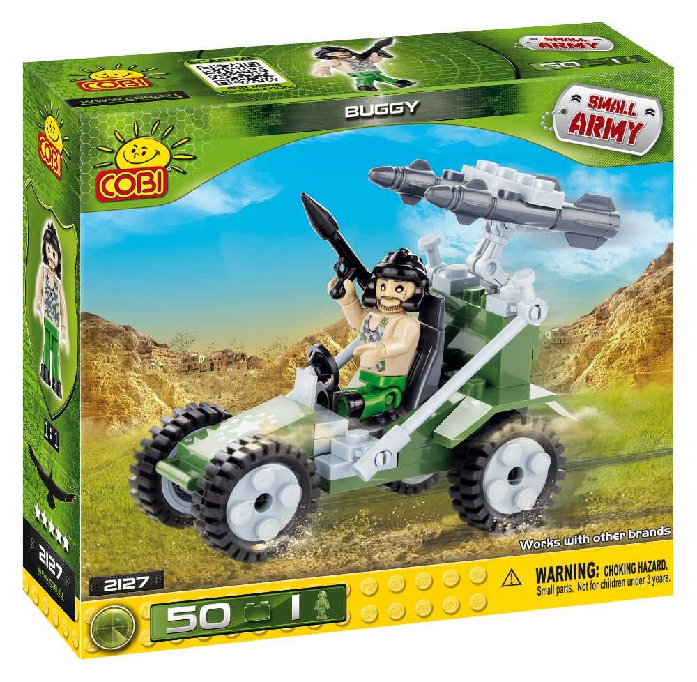 COBI 2127 army military toy building blocks bricks made in EUROPE