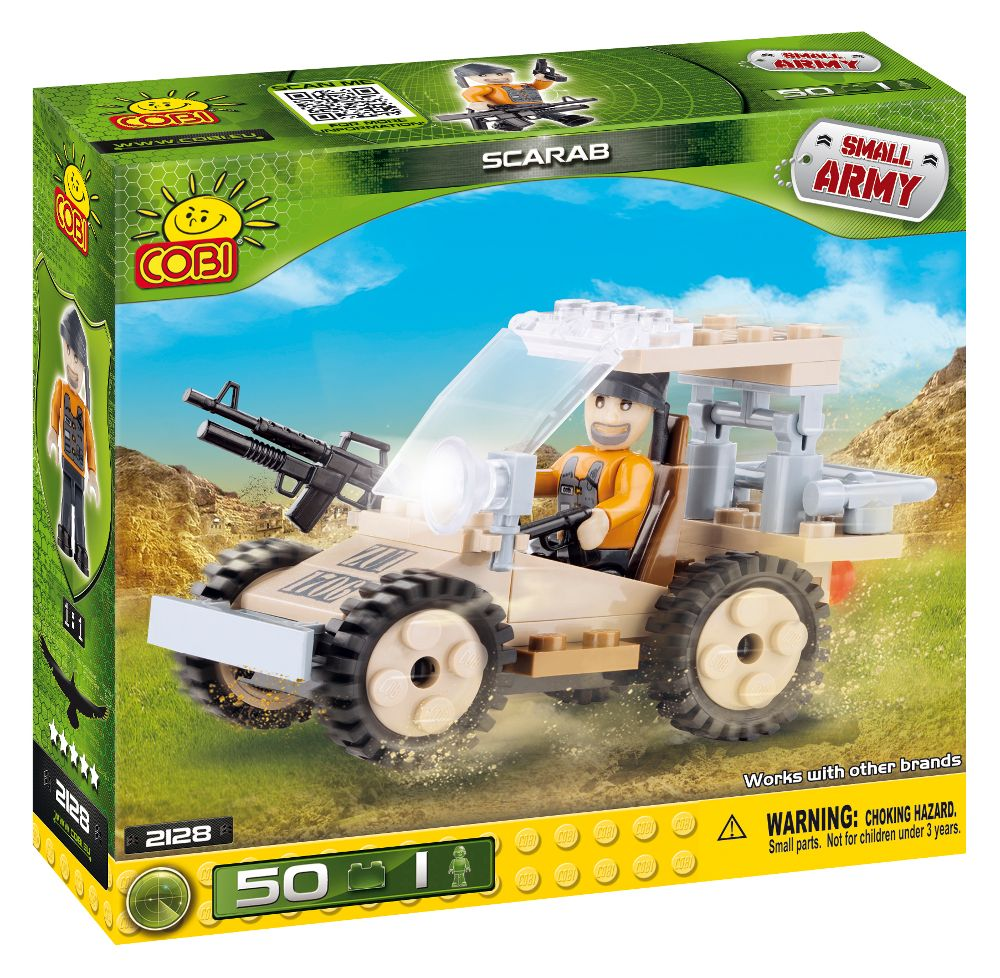 COBI 2128 army military toy building blocks bricks made in EUROPE