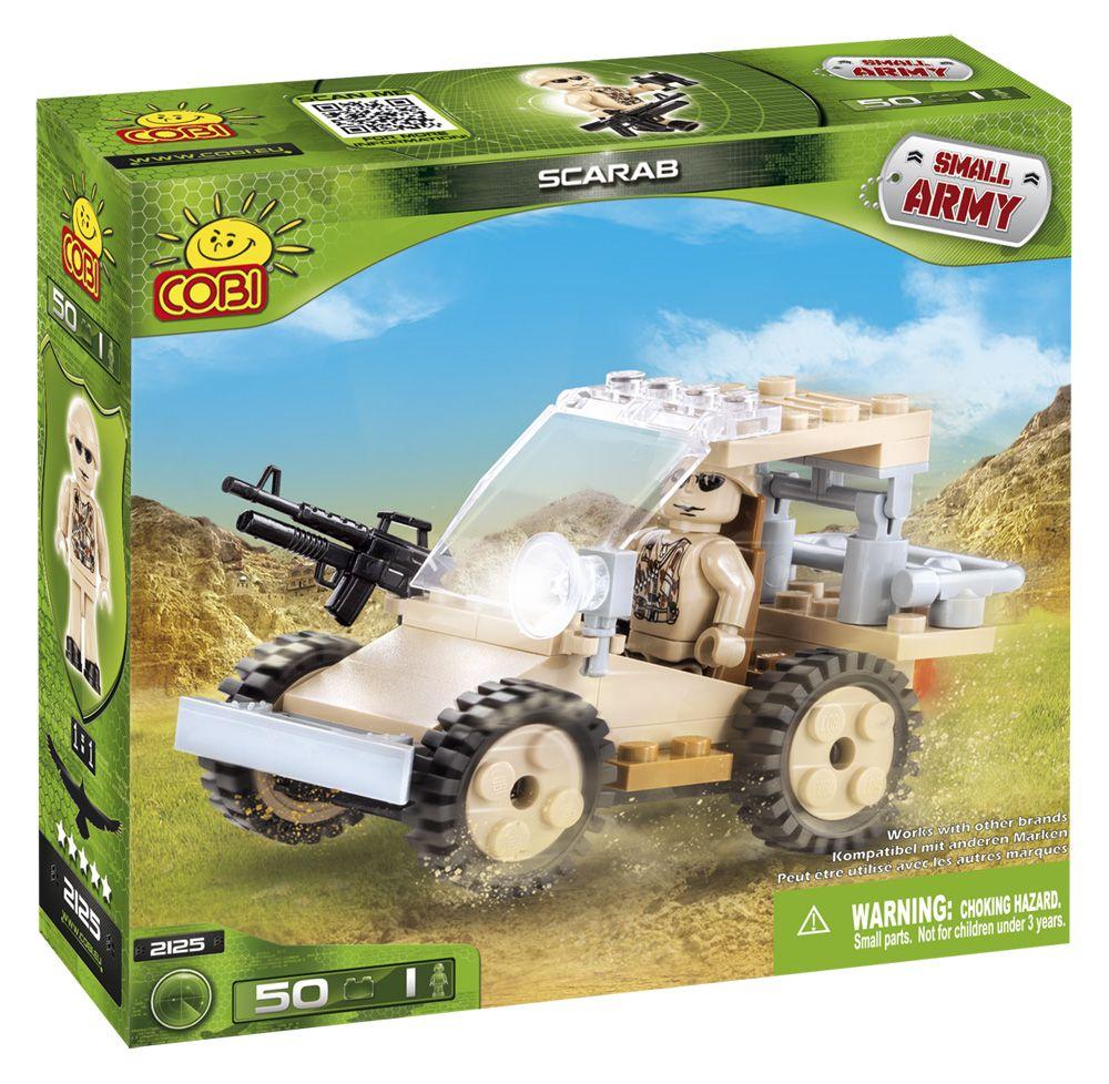 COBI 2125 army military toy building blocks bricks made in EUROPE
