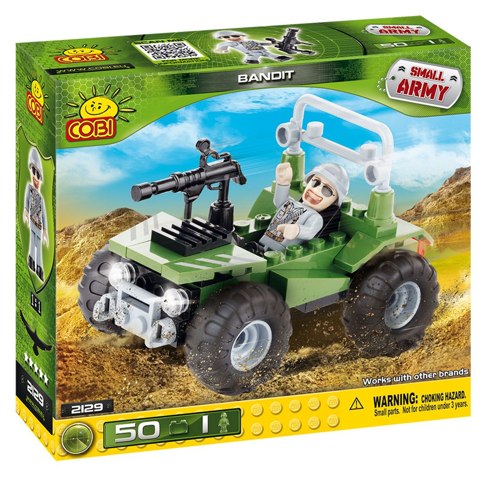 COBI 2129 army military toy building blocks bricks made in EUROPE