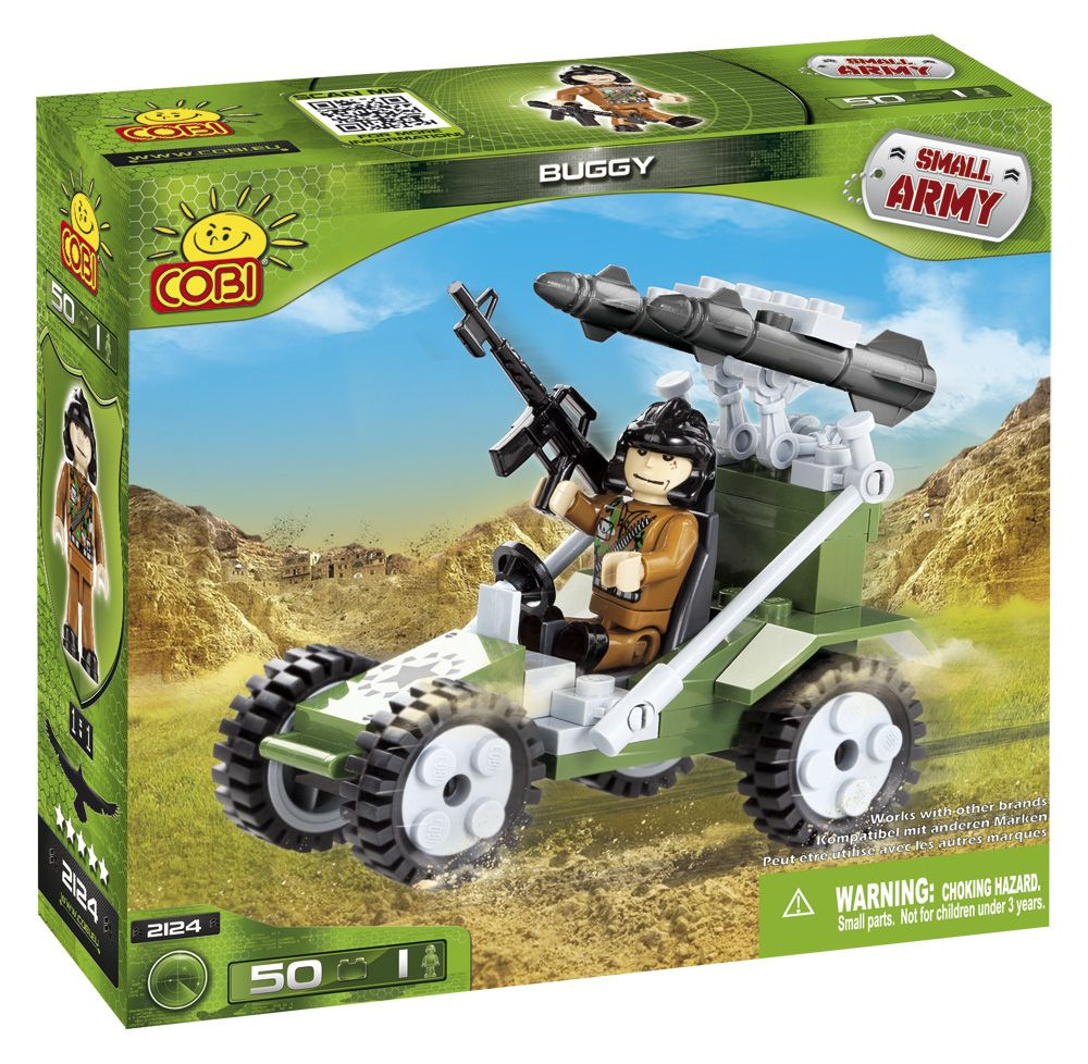COBI 2124 army military toy building blocks bricks made in EUROPE