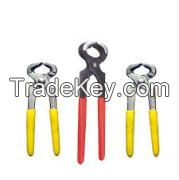 3pcs Pliers with Red Cushion Grip