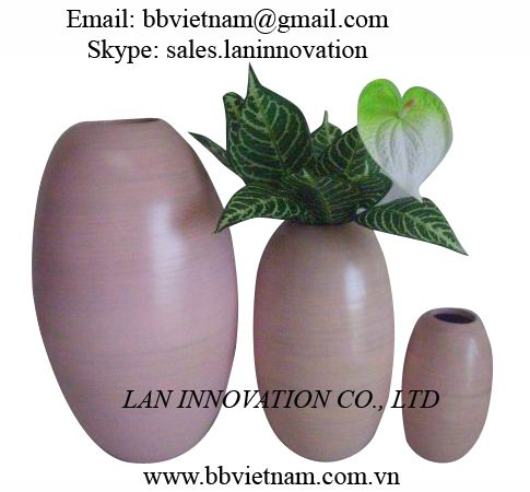 Bamboo Vases handmade with best price