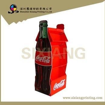 Popular Portable Customized Cardboard Beer Display Stand