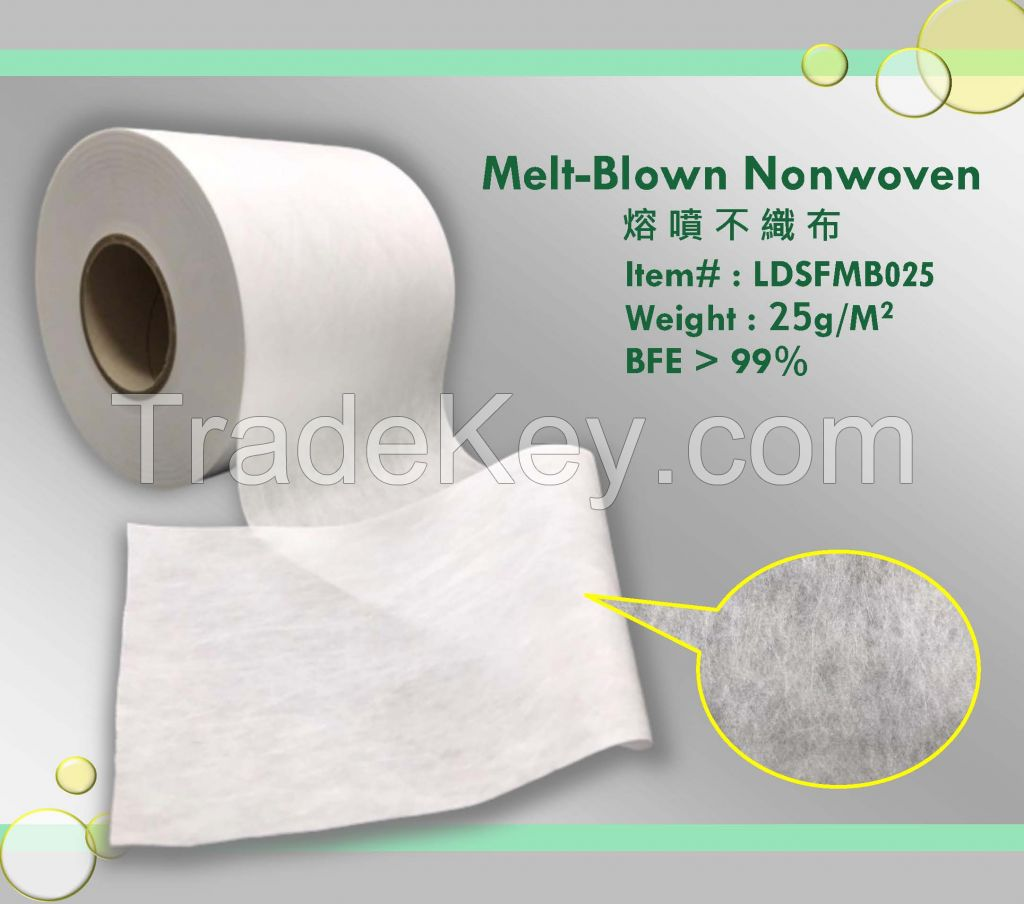 Nonwovens for 3 Ply Mask