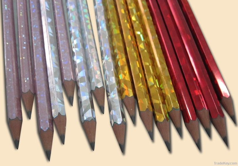 HB transfer plastic pencil without eraser