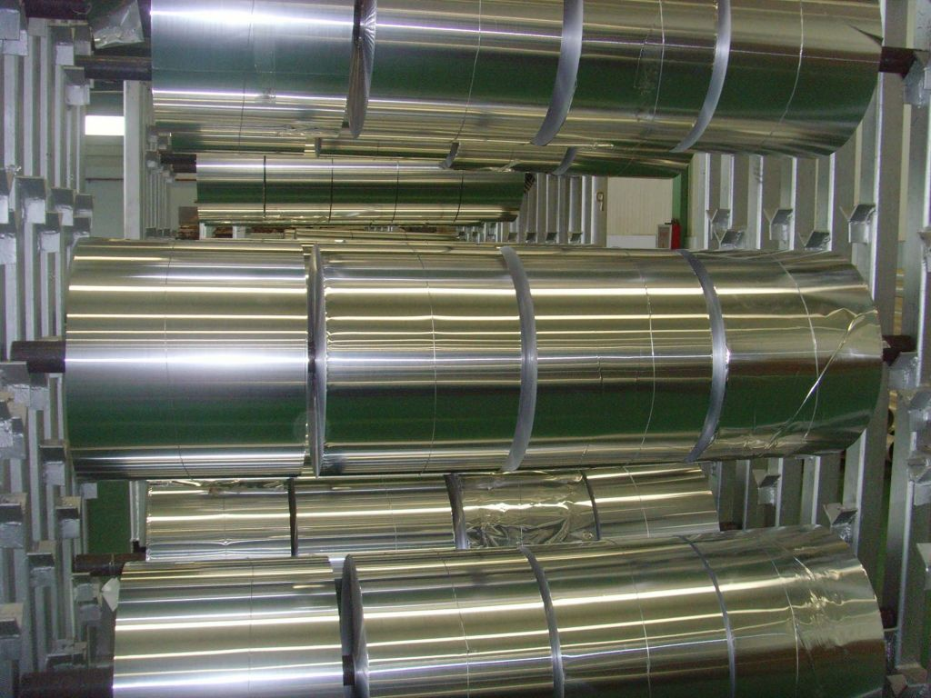 Capacitors Use Aluminum Foil