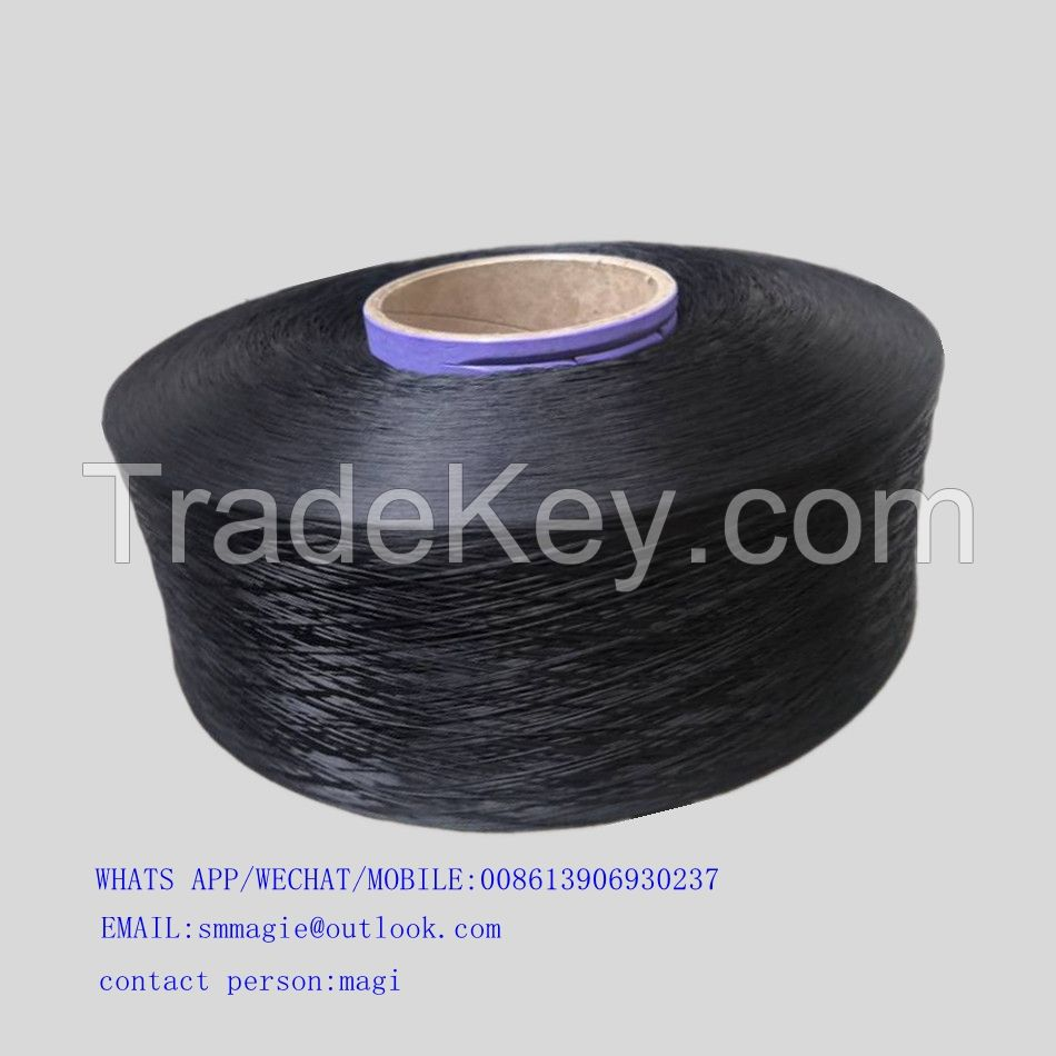 900D FDY POLYPROPYLENE YARN RECYCLED BLACK