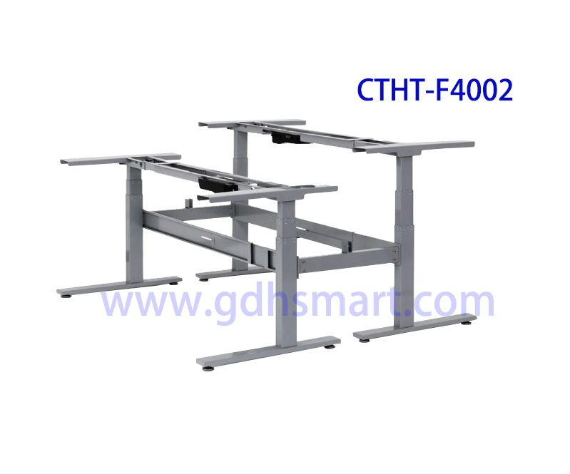 Height adjustable table by electric with 4 memory height pre-set control is available CTHT-F4005