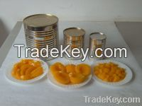 Canned Yellow Peaches