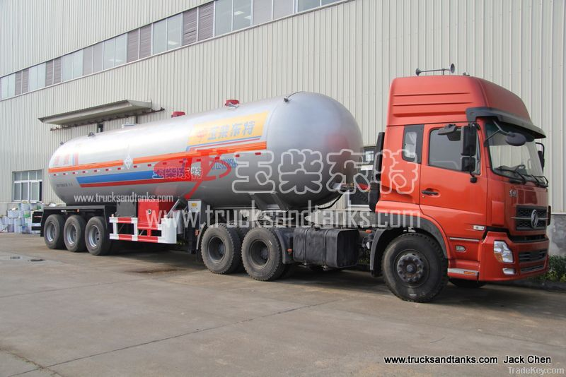 Liquid Ammonia Tanker Truck