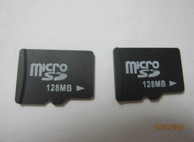 micro sd 128MB flash card tf card high writing speed and reading speed 100piece/BOX