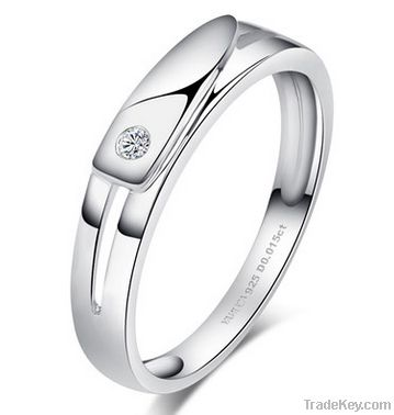 2014 latest design 925 silver ring wholeasle