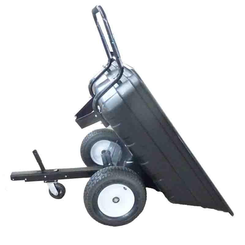 HEAVY DUTY GardenTrailer tilting cart with high loading capacity