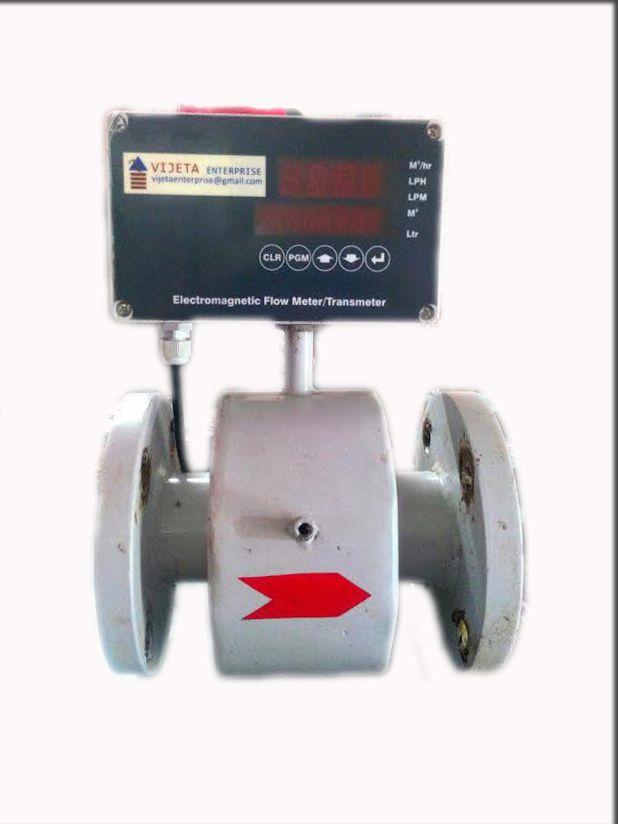 Electro magnetic flow meters