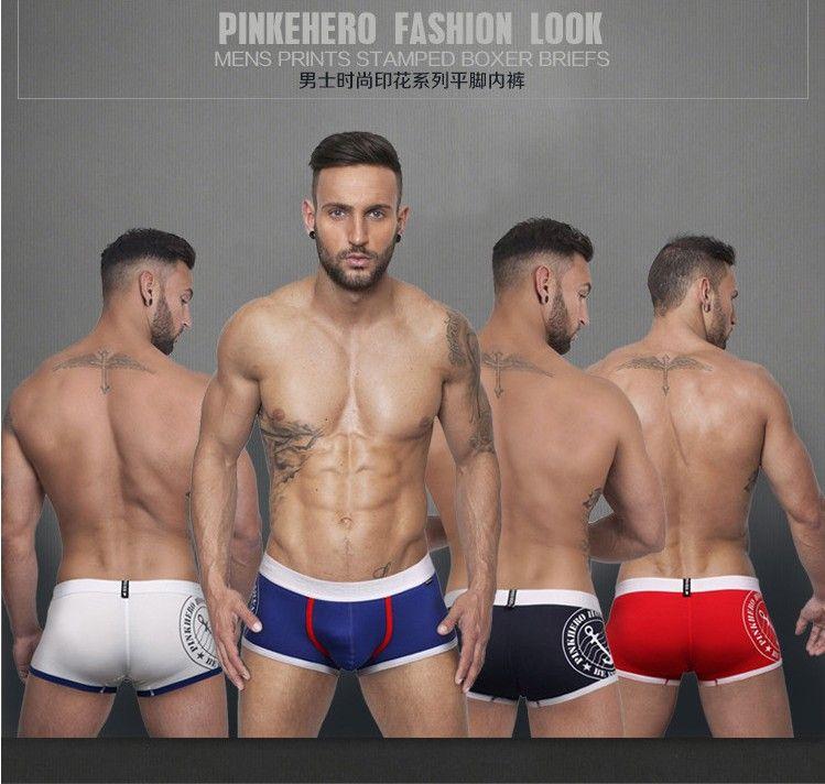 PINKHERO men underwear (M,L,XL,XXL) Cotton shorts men pants free shipping NK-075