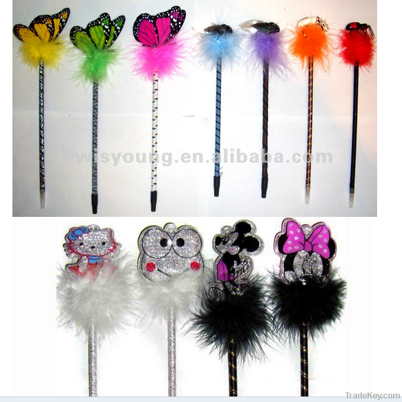 promotional ballpoint pen shape pen feather pen gift pen