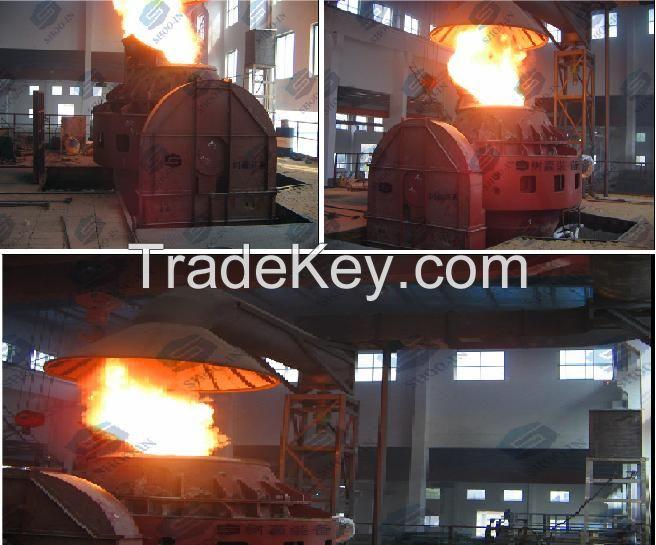 AOD argon oxygen decarburization furnace, AOD furnace