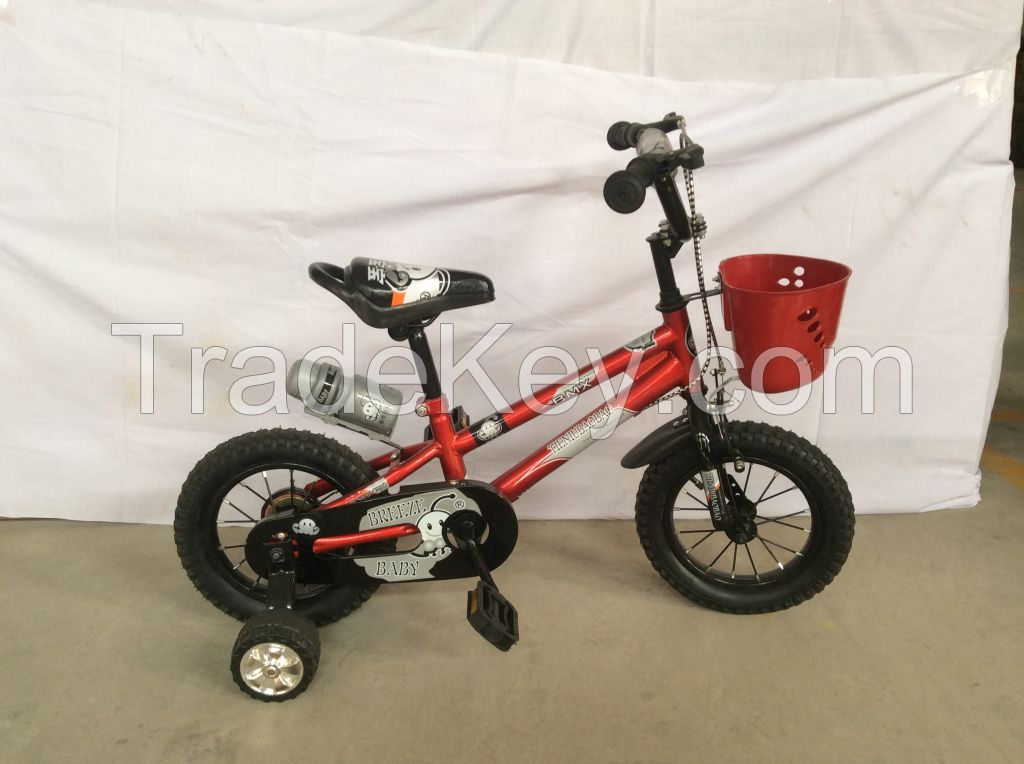 12inch red color kids bicycle children bike baby cycle from China