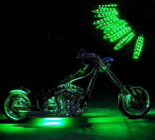 RGB Motorcycle LED Accent Strip Kit