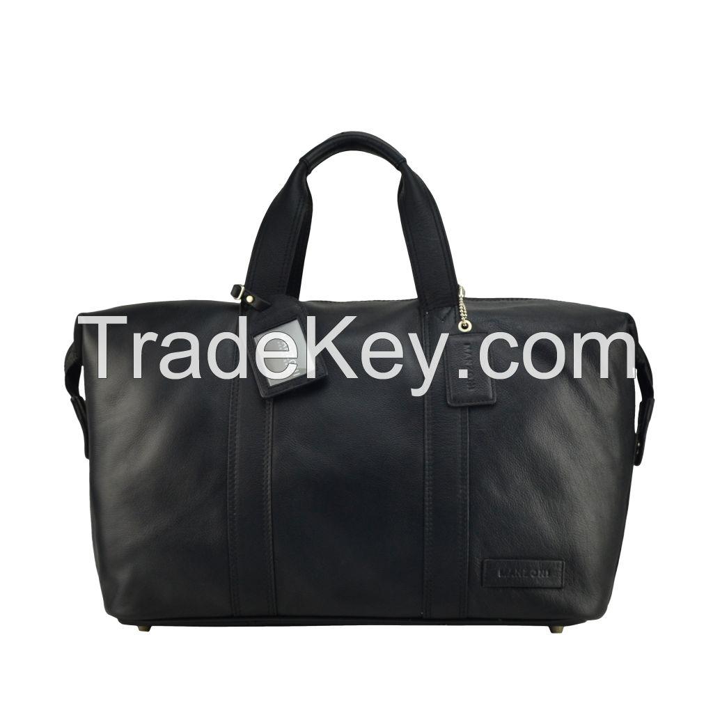 Unisex Genuine Leather Hobo Shoulder Handbag