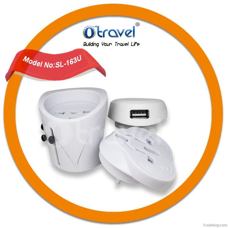 5v 1a usb world travel adapter for EU, UK, AUS, US
