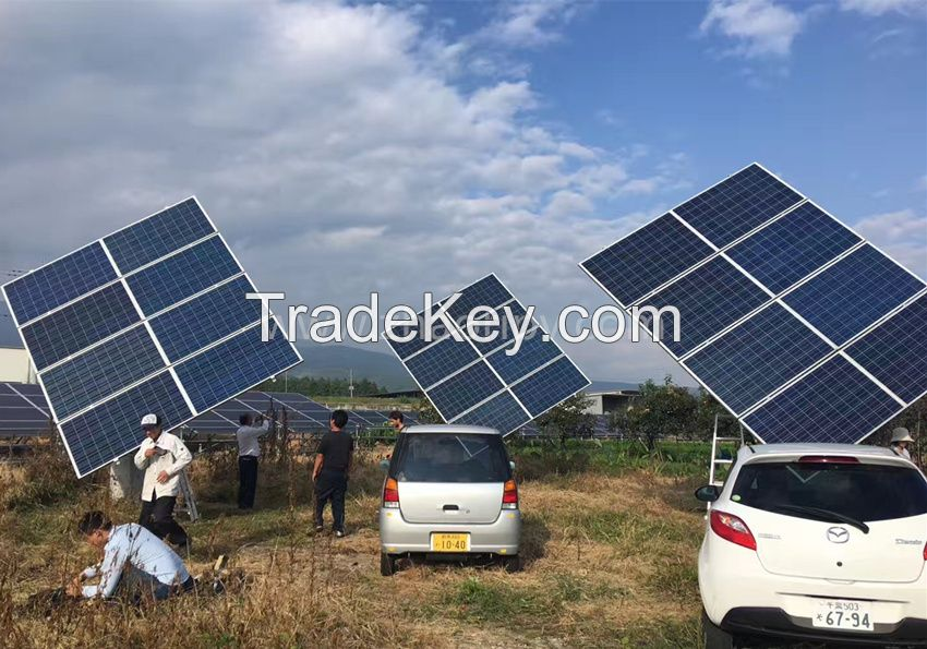 ZRD dual axis solar tracking system
