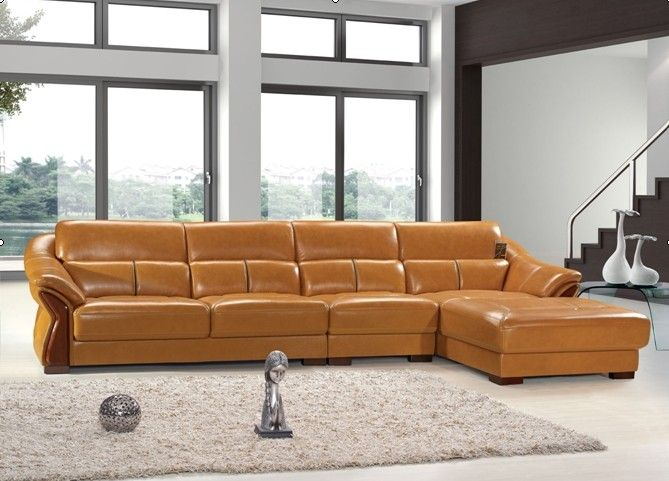 Import Leather Sofa 2623#