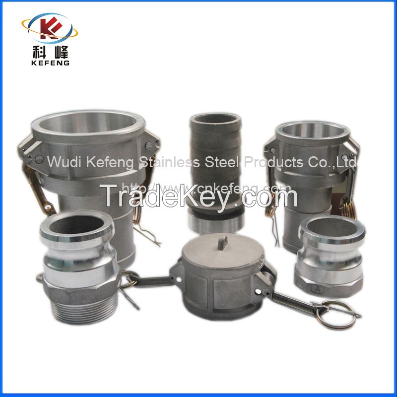 Competitive Price stainless steel  304 316 camlock couplings
