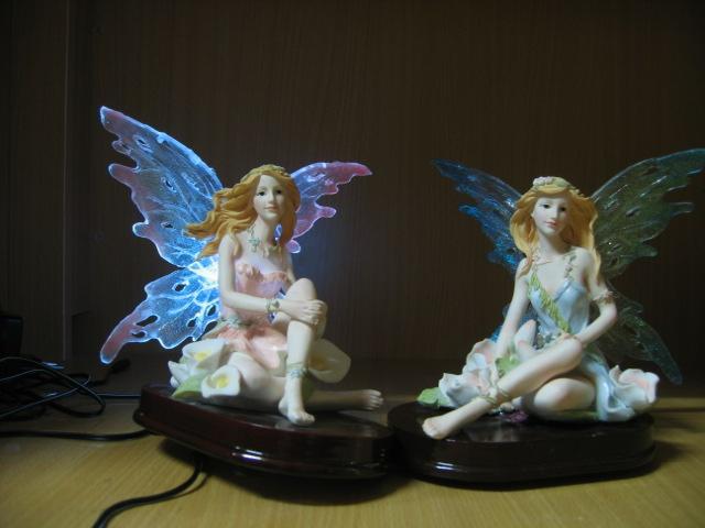Polyresin figurine
