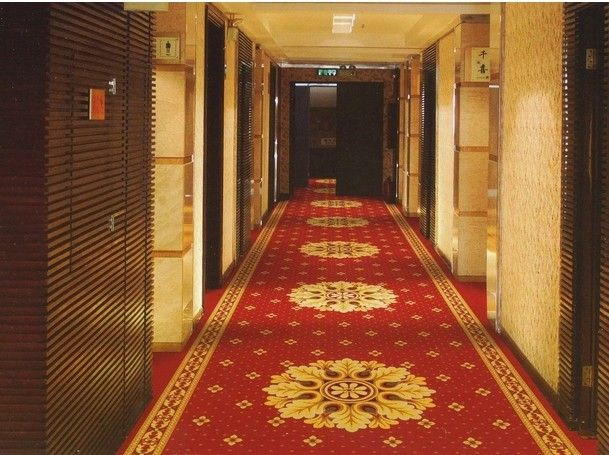 Printed style commercial hotel carpet