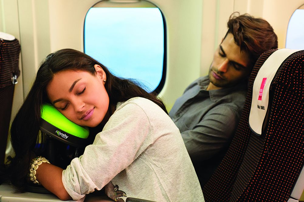 The kooshy Travel Pillow! New Product!!