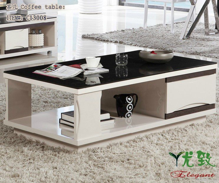 modern and concise coffee table