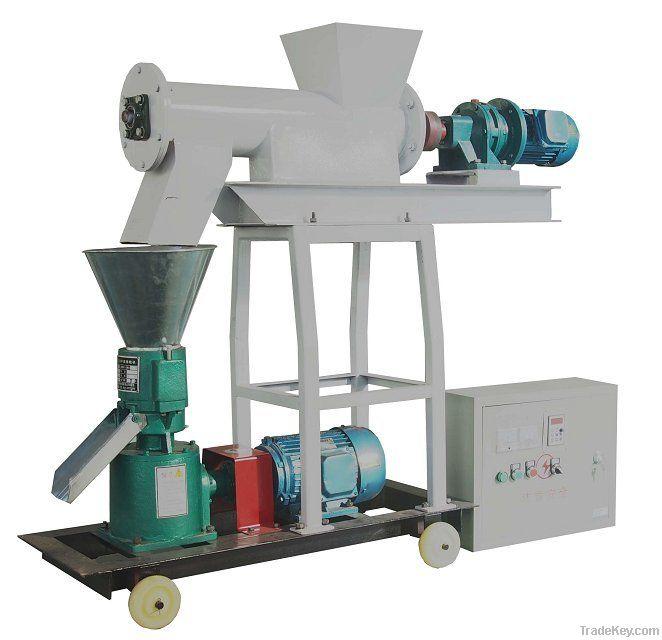 ISO9001 Proved Flat-die Chicken Feed Pellet Machine
