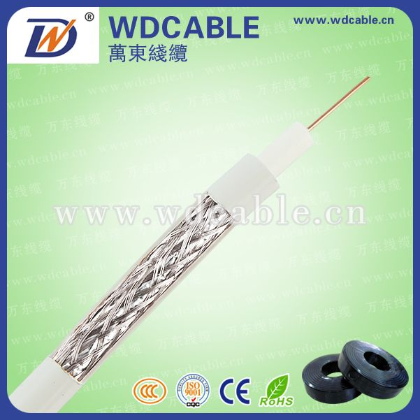 RG58/RG59/RG6/RG11 coaxial cable for CCTV/CATV factory price