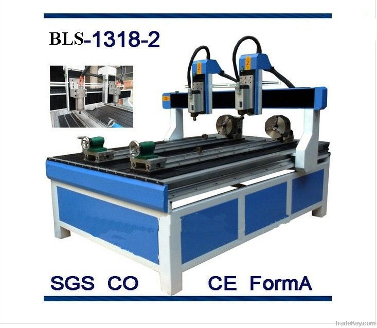 multi rotary cnc router price / 1212 cnc engraving machineBLS-1212-4
