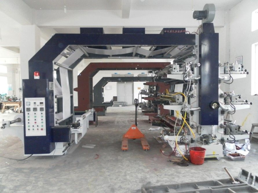Non woven bag flexo printing machine