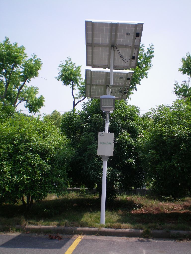 20W-100W street solar light in Li-iron cell