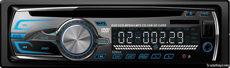 One Din Car CD DVD Player
