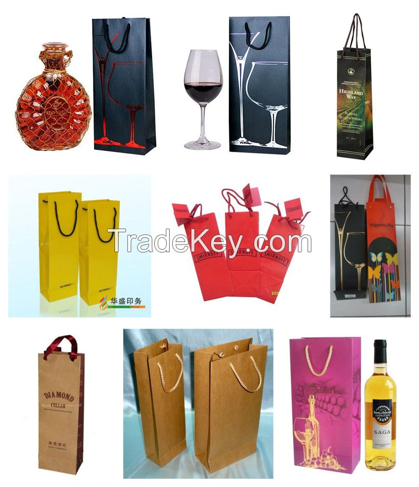 Hot Sale Custom Kraft Paper Gift Shopping Bag