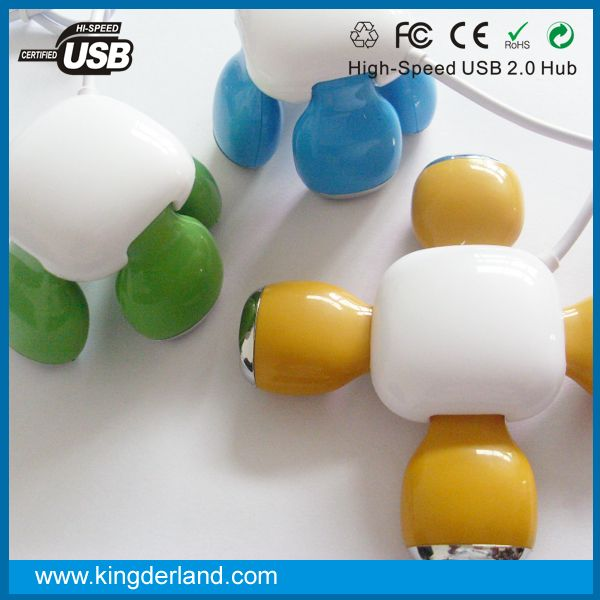 Hot Sale Promotion Gift Cute 4 Port Stool USB Hub