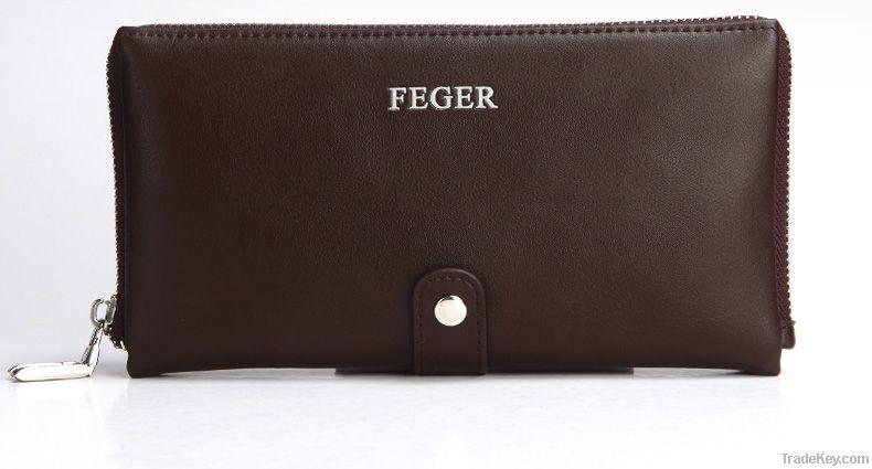 new design leather clutch bag for men