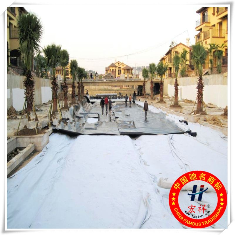 Road construction material geotextile fabric