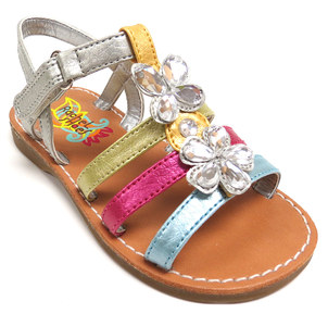 2014 high quality and cheap price of kids sandal for girls