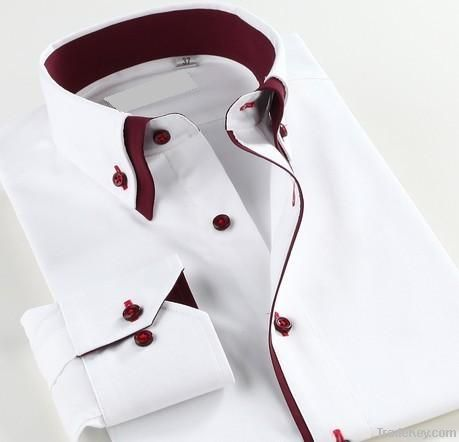 men's dress shirts with the double-button down collar with the latest
