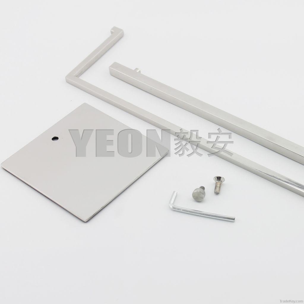 YEON wholesale stainless steel polish handbag display stand rack